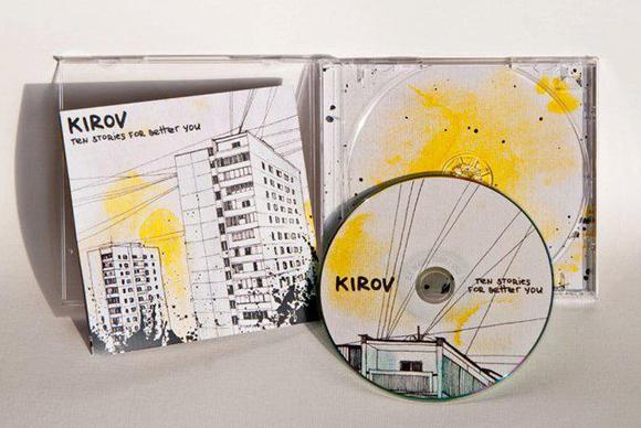 CD cover design for Kirov band