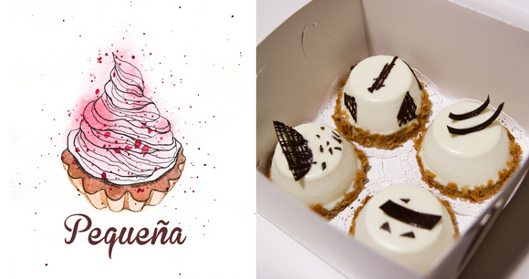 Drawing for Pequeña dessert studio