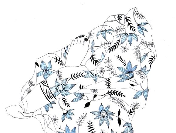2011, pen & ink, watercolours