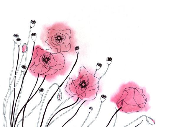 2012, pen & ink, watercolours