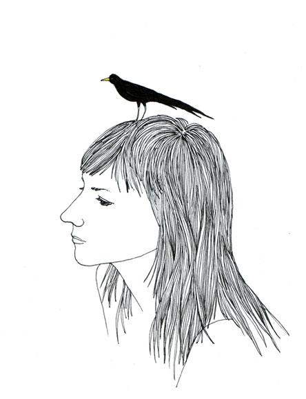 2011, pen & ink